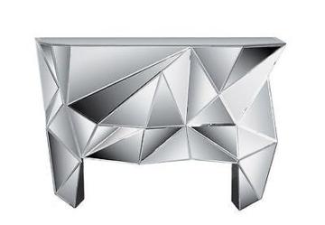Konsole Prisma von Kare Design komplett verspiegelte Kommode